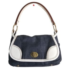 Miu Miu Denim Bleu Purse Rare  Bag